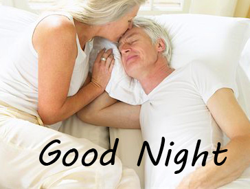 Latest Old Husband Wife Good Night Picture