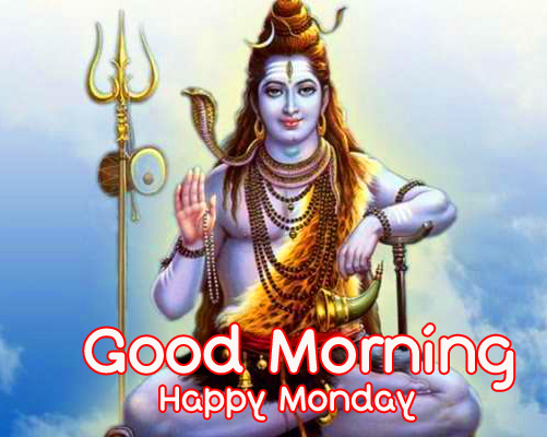 Lord Shiva Good Morning Happy Monday Picture