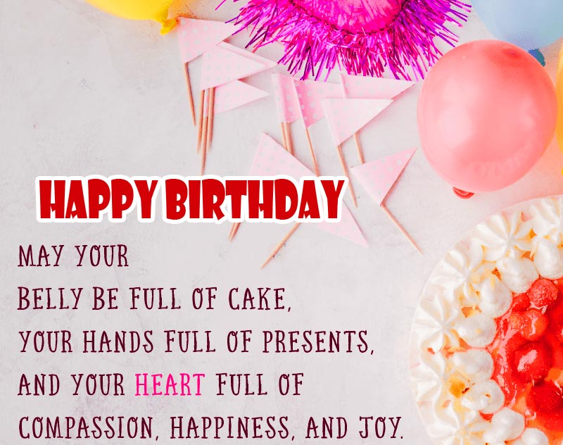 Lovely Happy Birthday Message Image