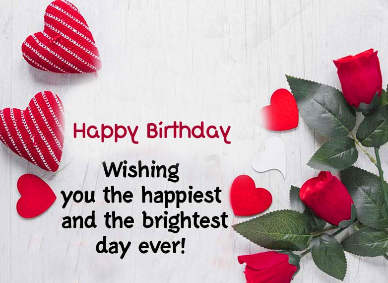 Lovely Happy Birthday Message Picture