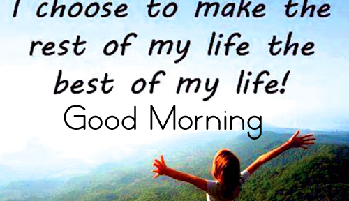 Lovely Positive Quotes Good Morning Image HD