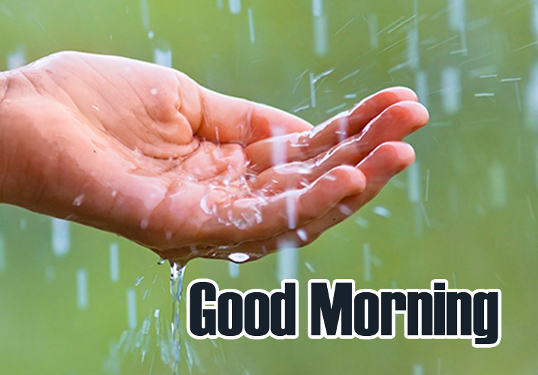 Lovely Rainy Good Morning Image