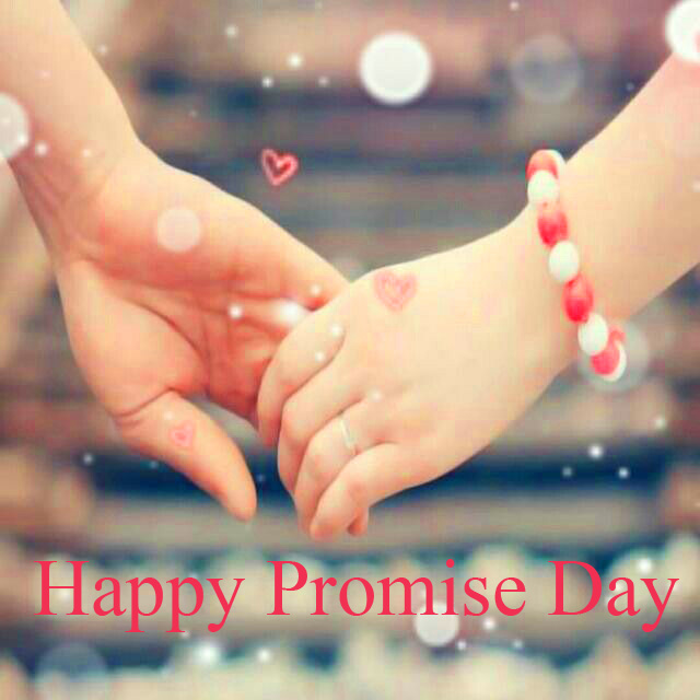 Lovers Hands Happy Promise Day Picture HD
