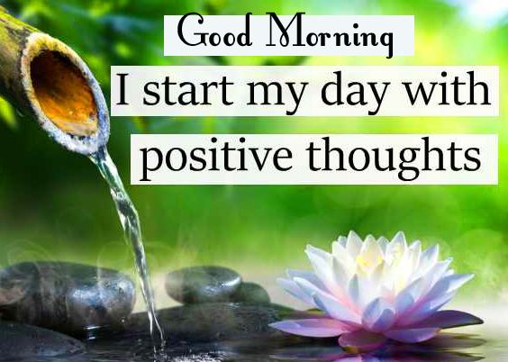 Morning Positive Thought with Good Morning Wish
