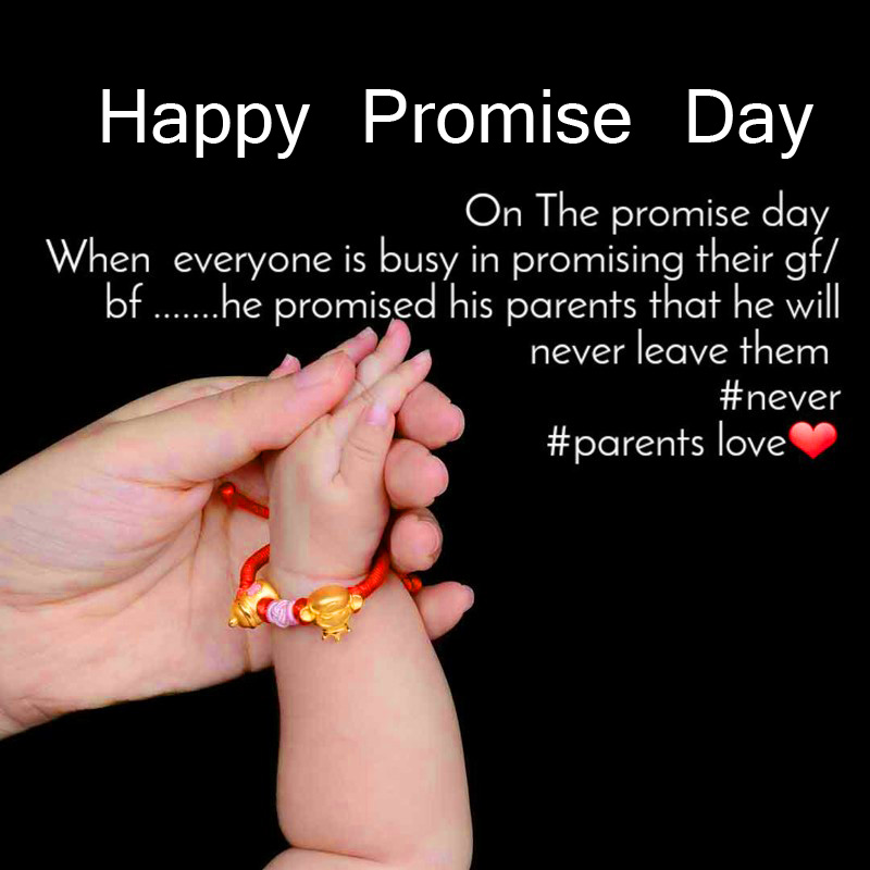 Parents Happy Promise Day Image