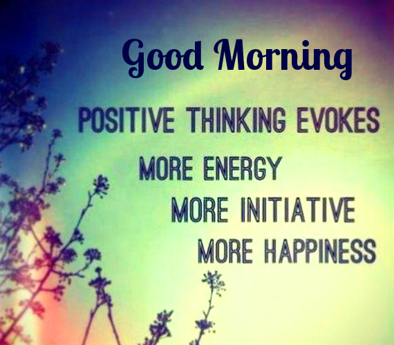 Positive Thinking HD Good Morning Image