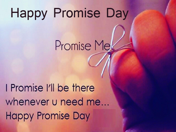 Quotes with Happy Promise Day Wish