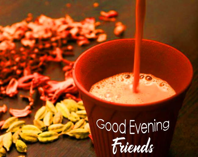 Refreshing Good Evening Friends Image