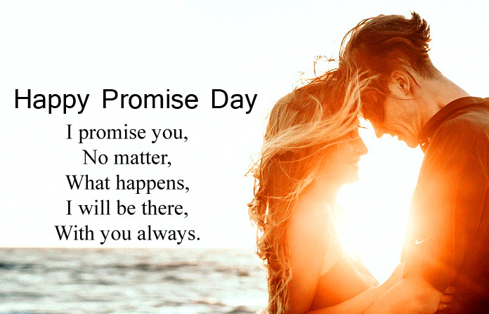 Romantic Happy Promise Day Quotes Pic
