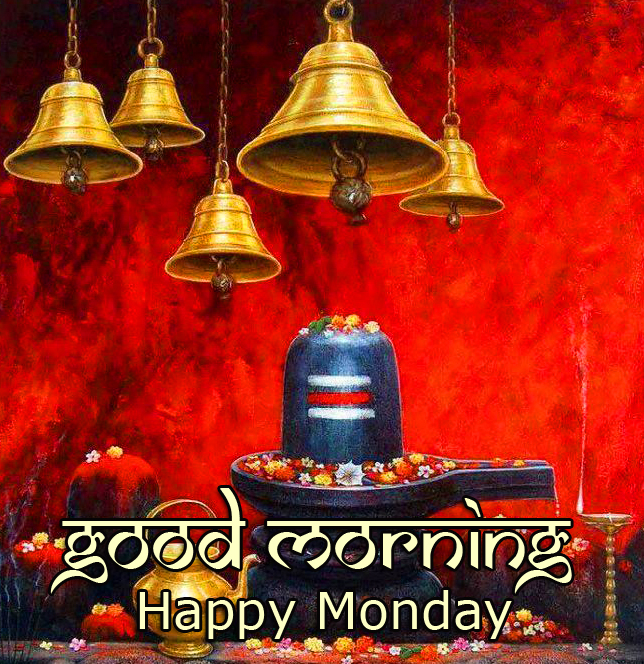Shivling Good Morning Happy Monday Picture