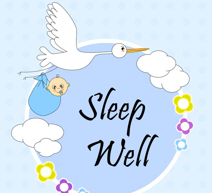 Sleep Well Baby Picture HD