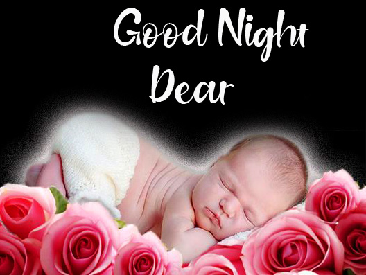 Sleeping Baby Good Night Dear Picture