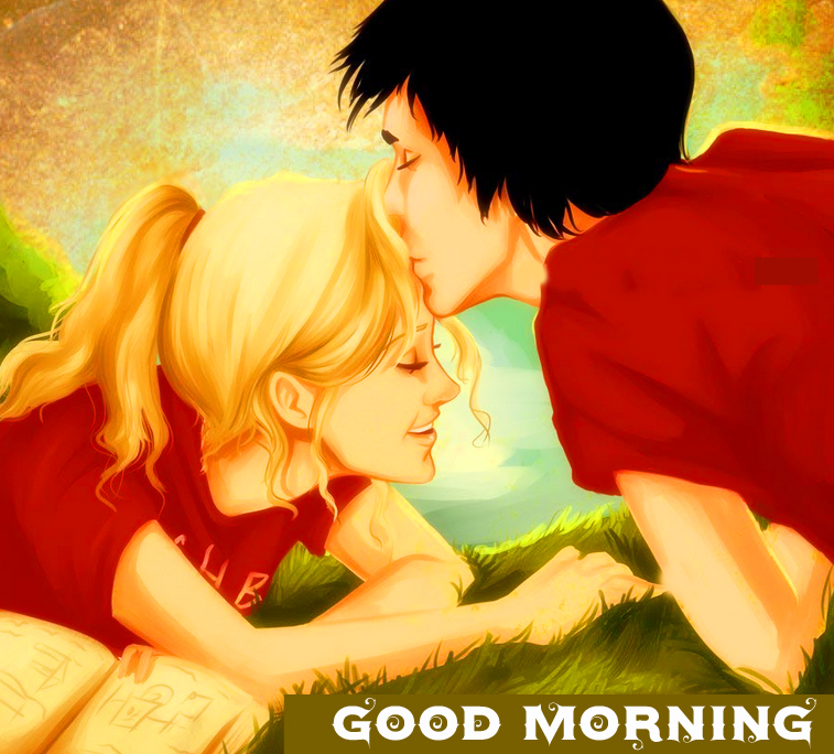 Animated Couple Good Morning Pic