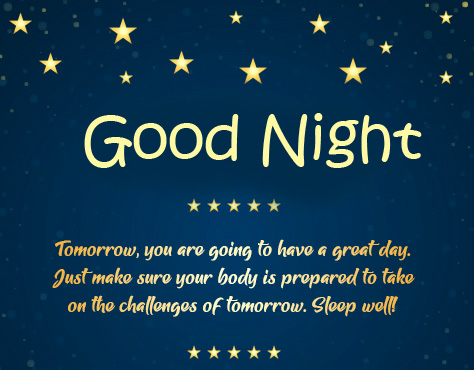 Beautiful Blessing Quote Good Night Photo