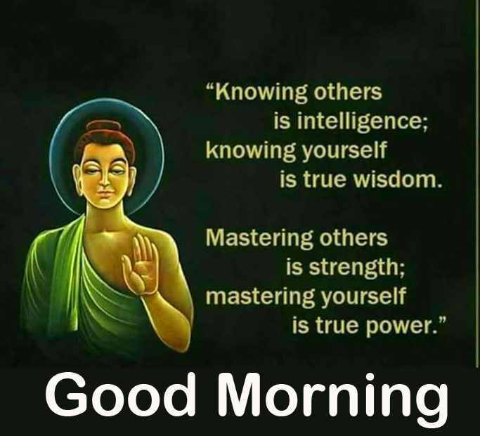 Buddha Lovely Quote Good Morning Image