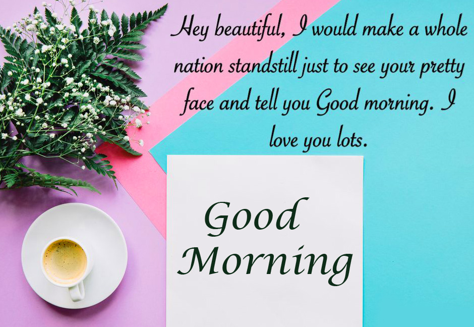 Colorful Quote Good Morning Picture