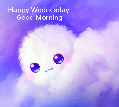 Cute Happy Wednesday Good Morning Image