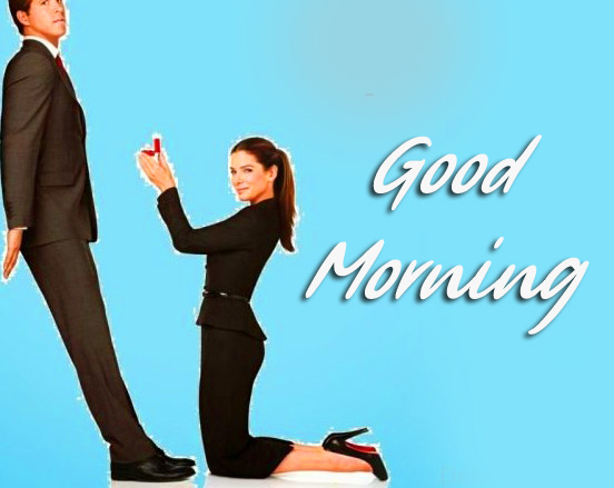 Funny Couple Love Good Morning Image