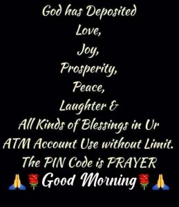 God Quote Good Morning Picture