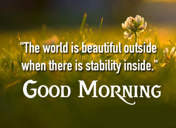 Good Morning Beautiful Quote HD Image