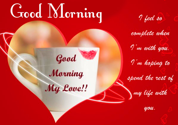 Good Morning Best My Love Message Picture