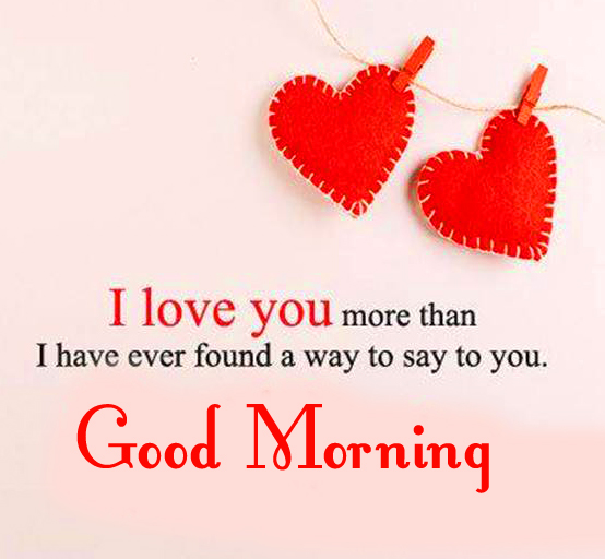 Good Morning Cute Love Quote Picture