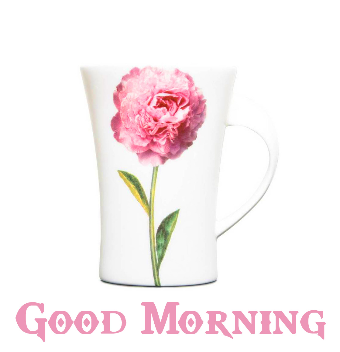Good Morning Flower Mug Pic