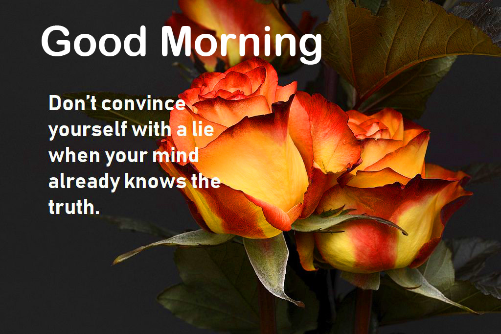 Good Morning Heart Touching Quote Pic