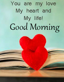 Good Morning My Heart Pic