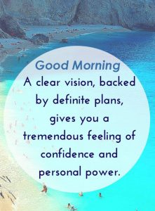 Good Morning Powerful Quote Picture HD