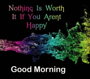 Good Morning Quote Colorful Picture