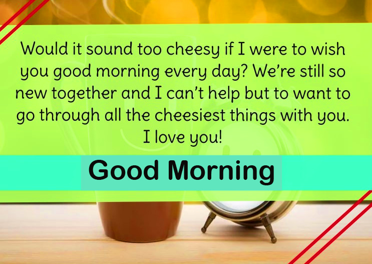 Good Morning Quote HD Wallpaper