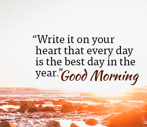 Good Morning Quote Picture HD