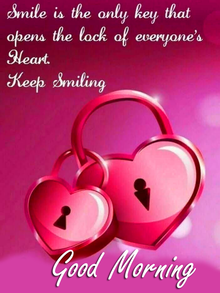 Good Morning Smiling Love Message Image