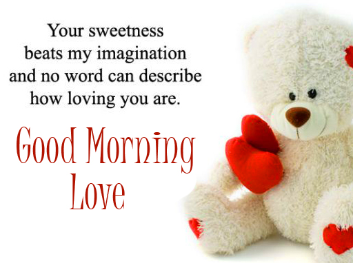 Good Morning Sweet Message Picture HD