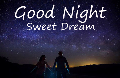 Good Night Sweet Dream Love Couple Picture