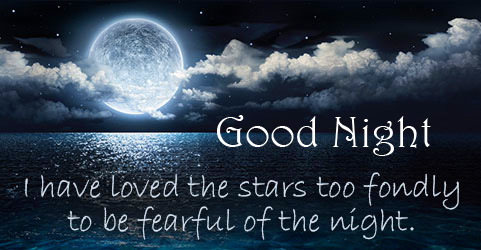HD Lovely Quote Good Night Image