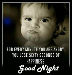 Happiness Blessing Quote Good Night Image