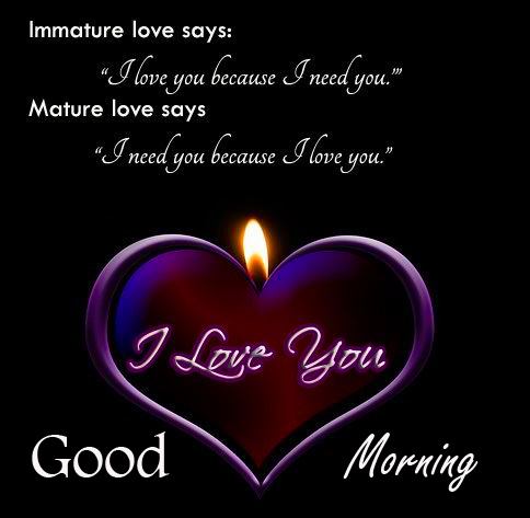 I Love You Good Morning Message Image
