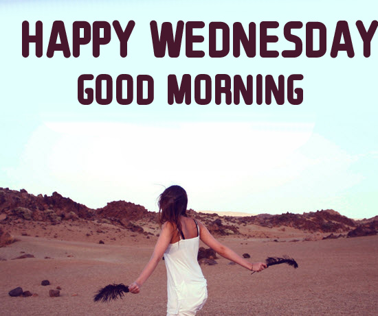Latest HD Happy Wednesday Good Morning Wallpaper