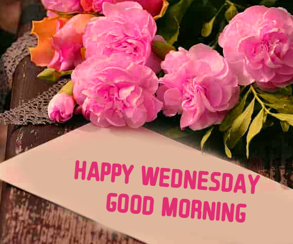 Latest Happy Wednesday Good Morning Greeting Card