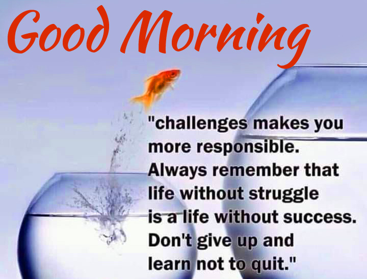 Latest Life Quote Good Morning Image