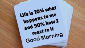 Latest Positive Quote Good Morning Image