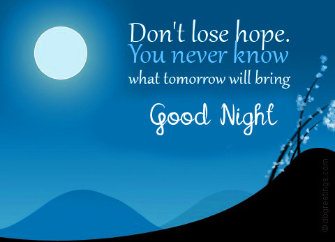 Latest and Best Blessing Good Night Quote Image