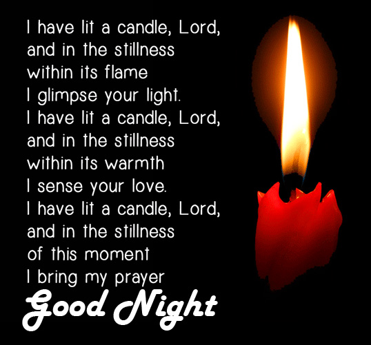 Lord Blessing Quote Good Night Wallpaper