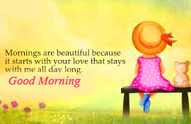 Lovely Morning Quote Good Morning Image