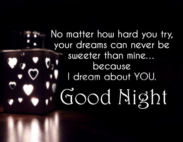 Lovely Quote with Good Night Wish