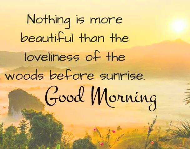 Most Beautiful Quote Good Morning Image
