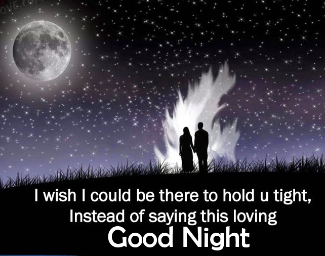 Romantic Blessing Quote Good Night Picture