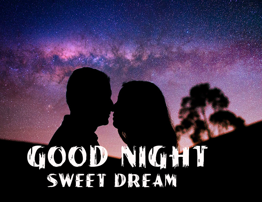 Romantic Kissing Couple HD Good Night Sweet Dream Picture